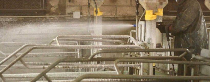 Distribució material higiene i desinfecció - Gepork